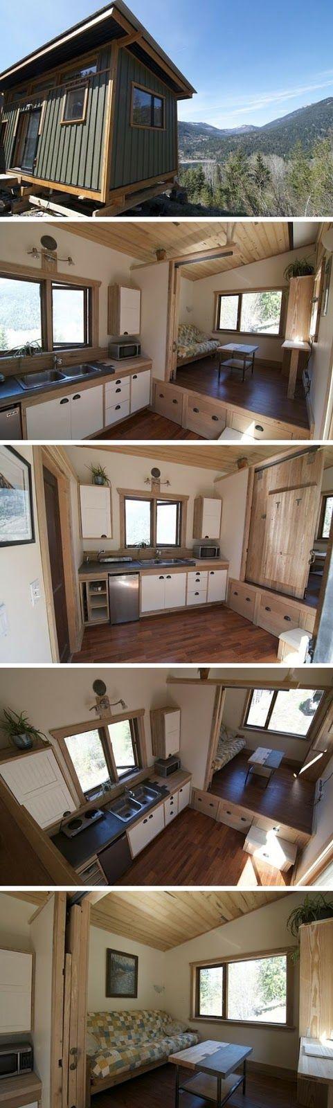 69 best Maison bois images on Pinterest Tiny house cabin, Home