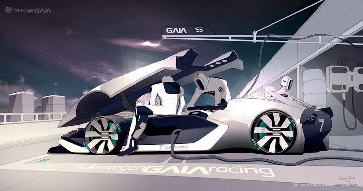 Volkswagen Gaia #talentodesign2016 on Behance
