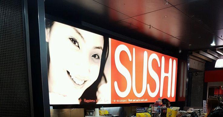 Pretty girl paired with sushi #foodie #nomnom #restaurants #australia #singapore #japan #usa #china #russia #africa #marketing