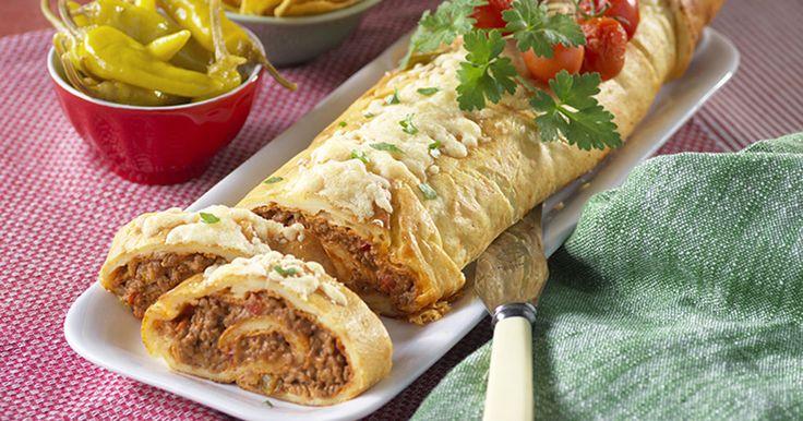 Recept pannkaksrulle med tacofärs