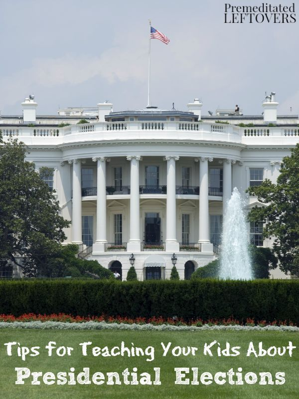 Tips for Teaching Your Kids About Presidential Elections