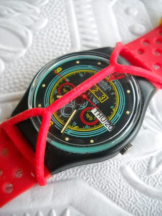 Swatch watch with guard!