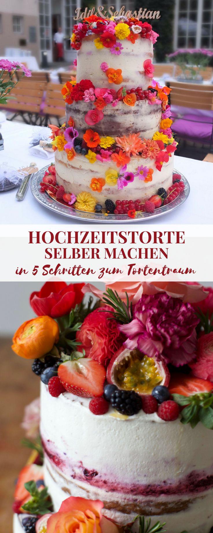 Faça o seu próprio bolo de casamento – como funciona!   – Torten & Törtchen