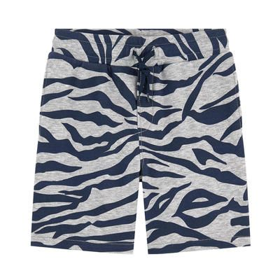 Kenzo Kids - Sportswear printed bermudas - Tiger Stripes - 230991