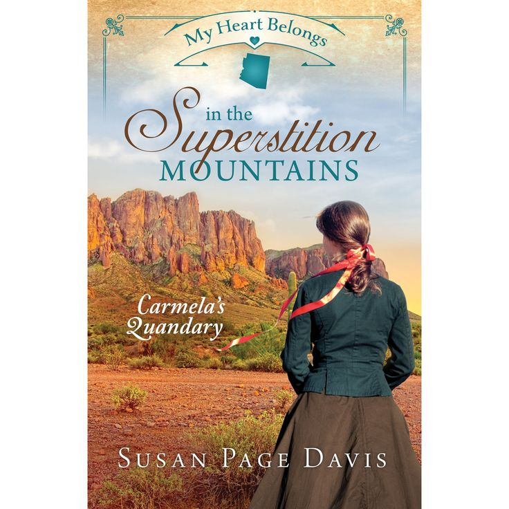 "I received this book for free from the publisher via NetGalley in return for an honest review.  ""My Heart Belongs in the Superstition Mountains: Carmela's Quandary"" by Susan Page Davis is a selection in the My Heart Belongs series which is a series of Christian romance novels set in different cities/areas in the US by different authors.  The book begins with an unwilling 14-year-old Carmela being forced by her uncle to ""perform"" at various venues by telling her story of being kidnapped ..."