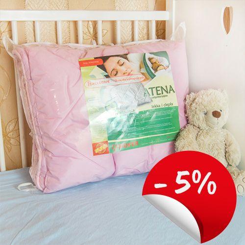 Kołderka z poduszka  2 częściowa do łóżeczka 100/130