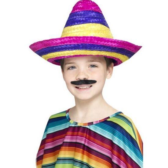 Kinder sombrero gekleurd