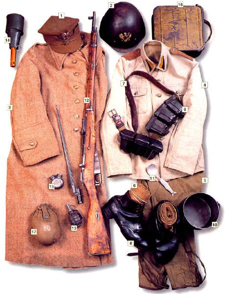 WWII uniforms, equipment and gear polish uniform 1939