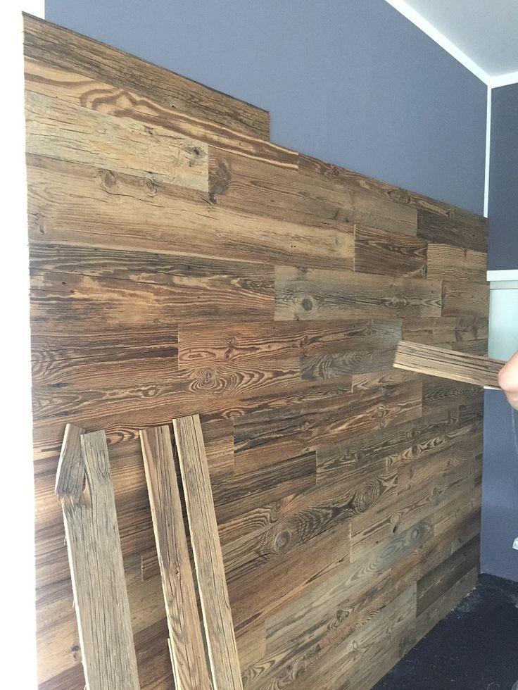 37+ Holz an wand kleben Sammlung