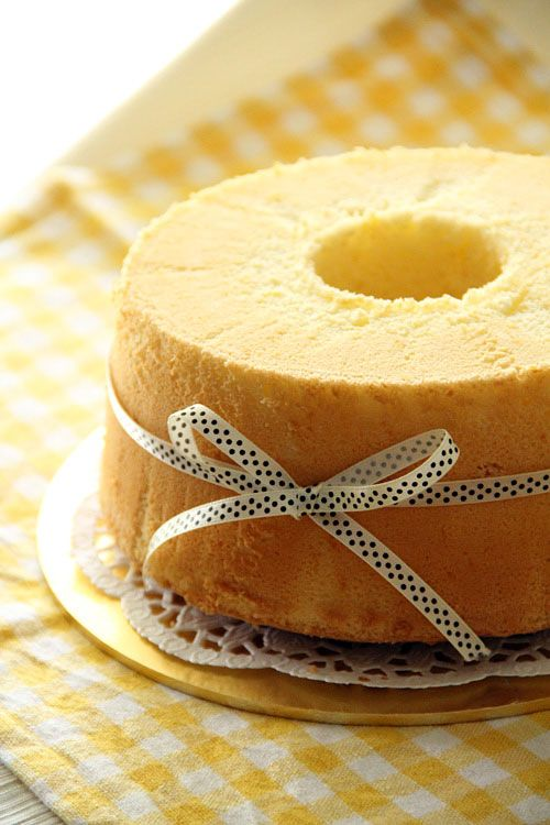 Orange Chiffon Cake: Chiffon cake—much like angel cake in the US (but tastes better)—is one of the most popular cakes in Malaysia and Singapore. Walk into any cake shops or supermarkets, you can always find various flavors of chiffon cake for sale. Chiffon cake is prized for its very light, soft, and cottony texture. Everyone loves it.