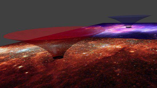 Via Láctea pode ser um gigantesco buraco de minhoca