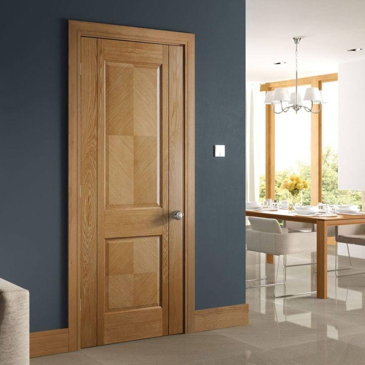 Kensington Oak Panel Door Prefinished Oakdoor Elegantdoor Traditionaldoor