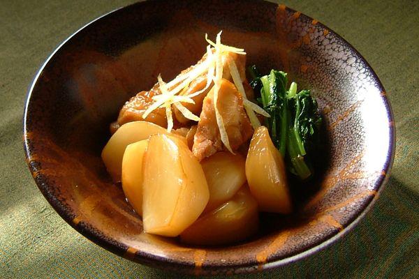 鶏とかぶの炒め煮