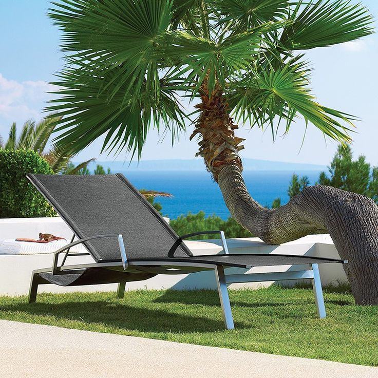 gloster fusion lounger | choice of colours | outdoor furniture | gloster UK #Outdoor #SunLounger