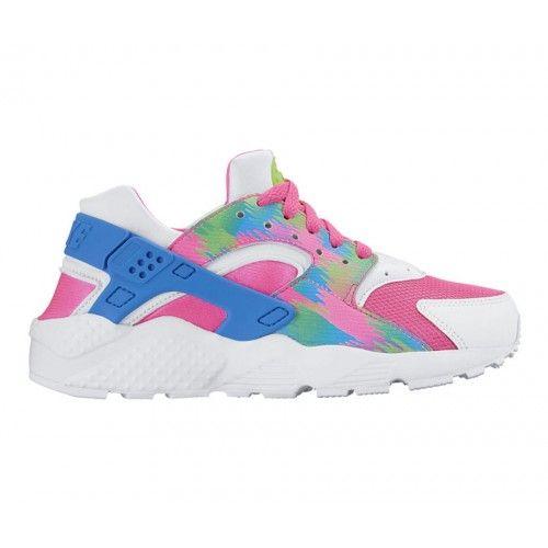 daa6b2d4d2c7 Nike Huarache Run Print Kız Genç Çocuk Spor Ayakkabı (GS)