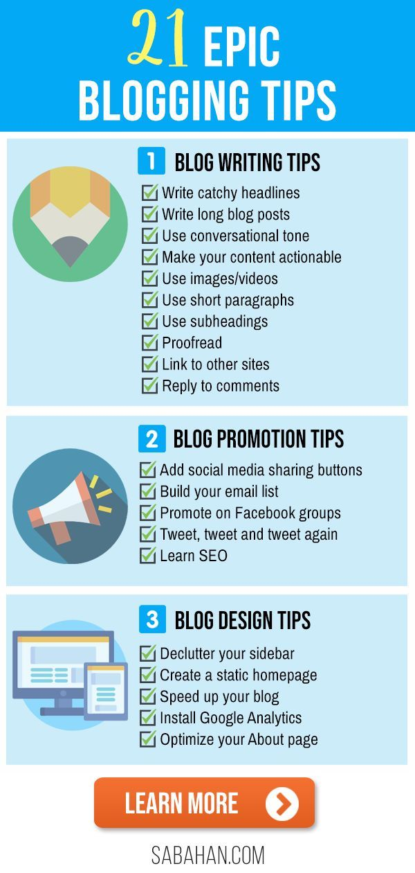 21 Terrific Blogging Tips And Tricks That Will Make Your Blog