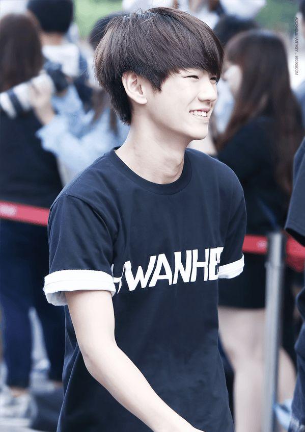Hwanhee ❤️ He looked and sounds like Beakhyun of Exo!