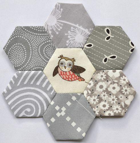 Grey Owl Hexies