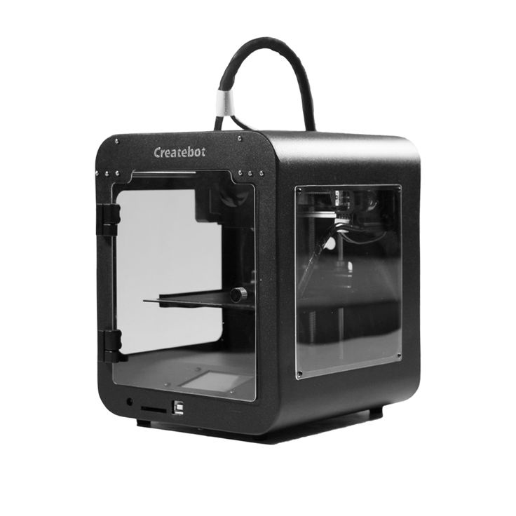 High Accuracy Createbot Super Mini 3D Printer 5 Colors for Option Fine Shape Low Price Build Size 85*80*94mm Small 3D Printer  Price:  US $299.00