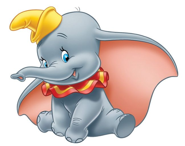 Dumbo...the sweetest lil' elephant ever!