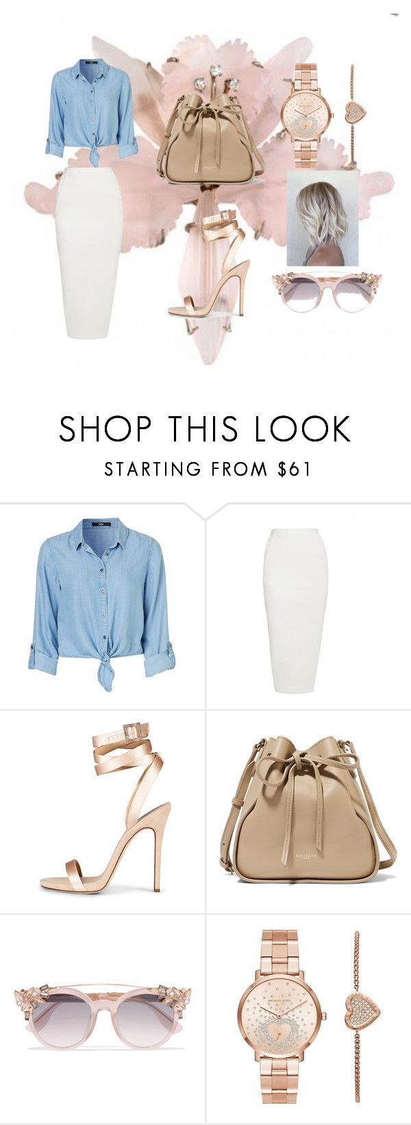 """""""Untitled #15"""" by lineocarol on Polyvore featuring Rick Owens, Nina Ricci, Jimmy Choo and Michael Kors"""