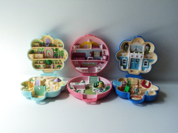 Polly Pocket Toys Set Of 3 Fifi S Parisian Apartment Midge S