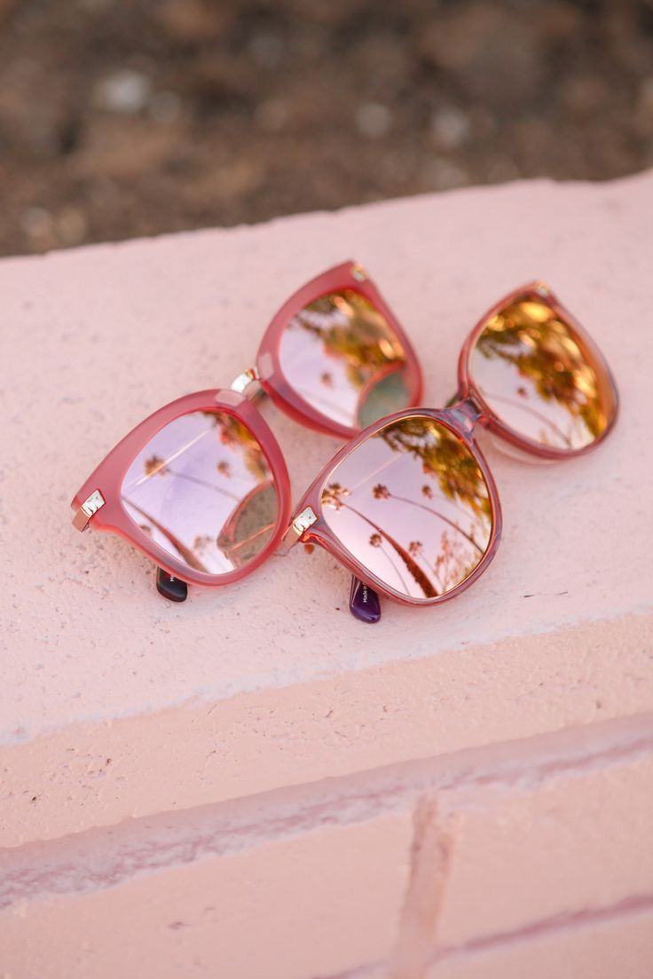 Sherry crystal TOMS sunglasses are the perfect statement lenses.