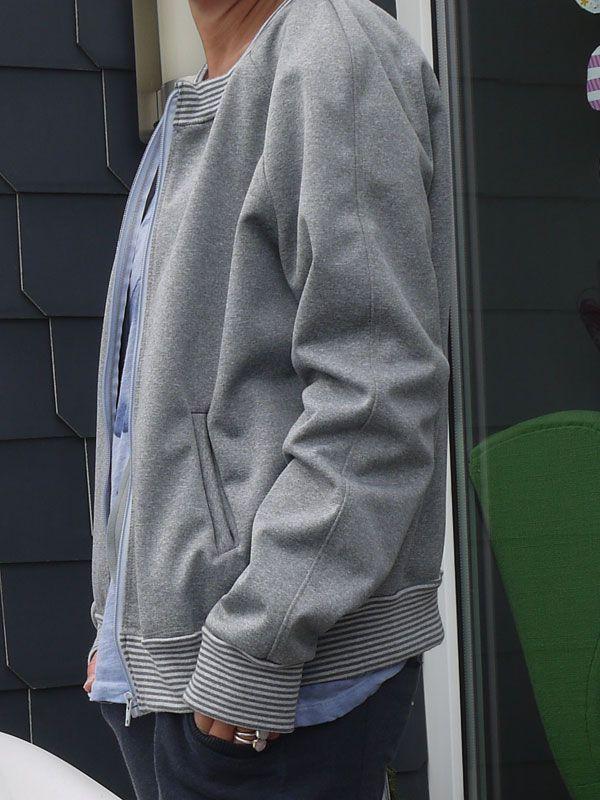 Ich bin so stolz, denn dieser Blouson ist tatsächlich so geworden wie ich ihn wollte. Er ist auch genau mein Kleidungsstück sowohl F...