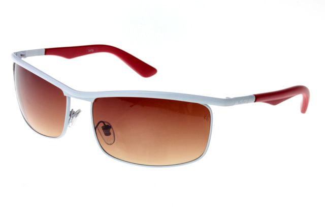 Ray Ban Active Lifestyle Solid RB3459 Brown White Sunglasses
