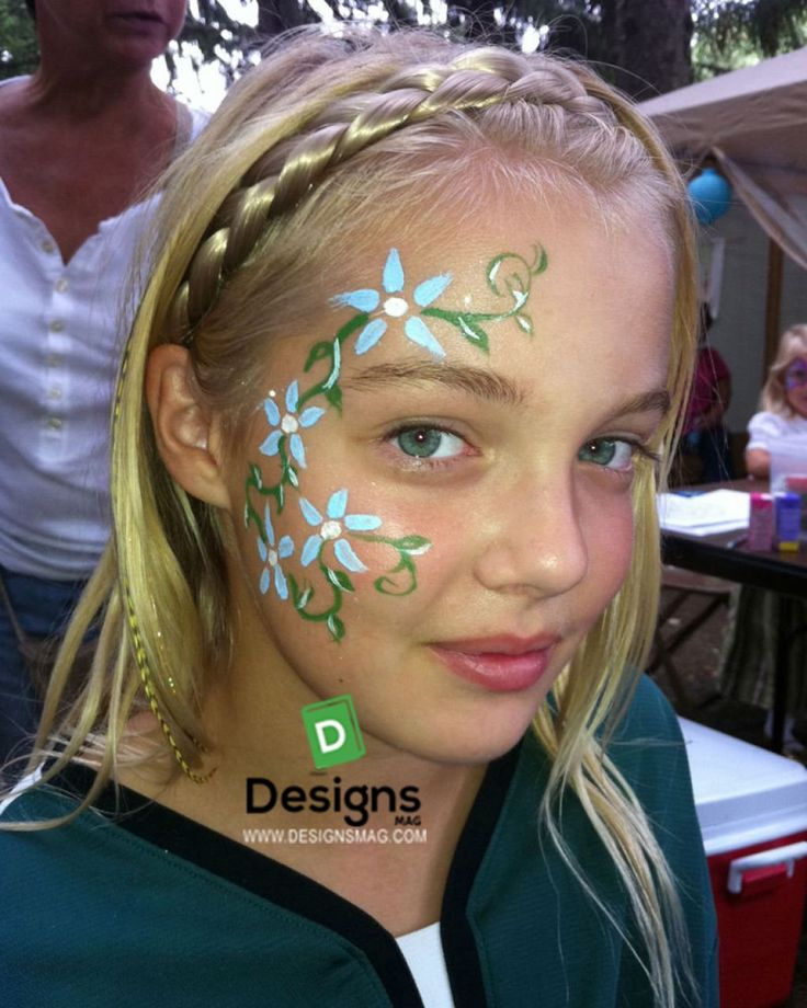 75 Easy Face Painting Ideas Make Up For The Face Body Art