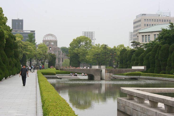 Мемориальный парк Мира в Хиросиме. Hiroshima Peace Memorial Park