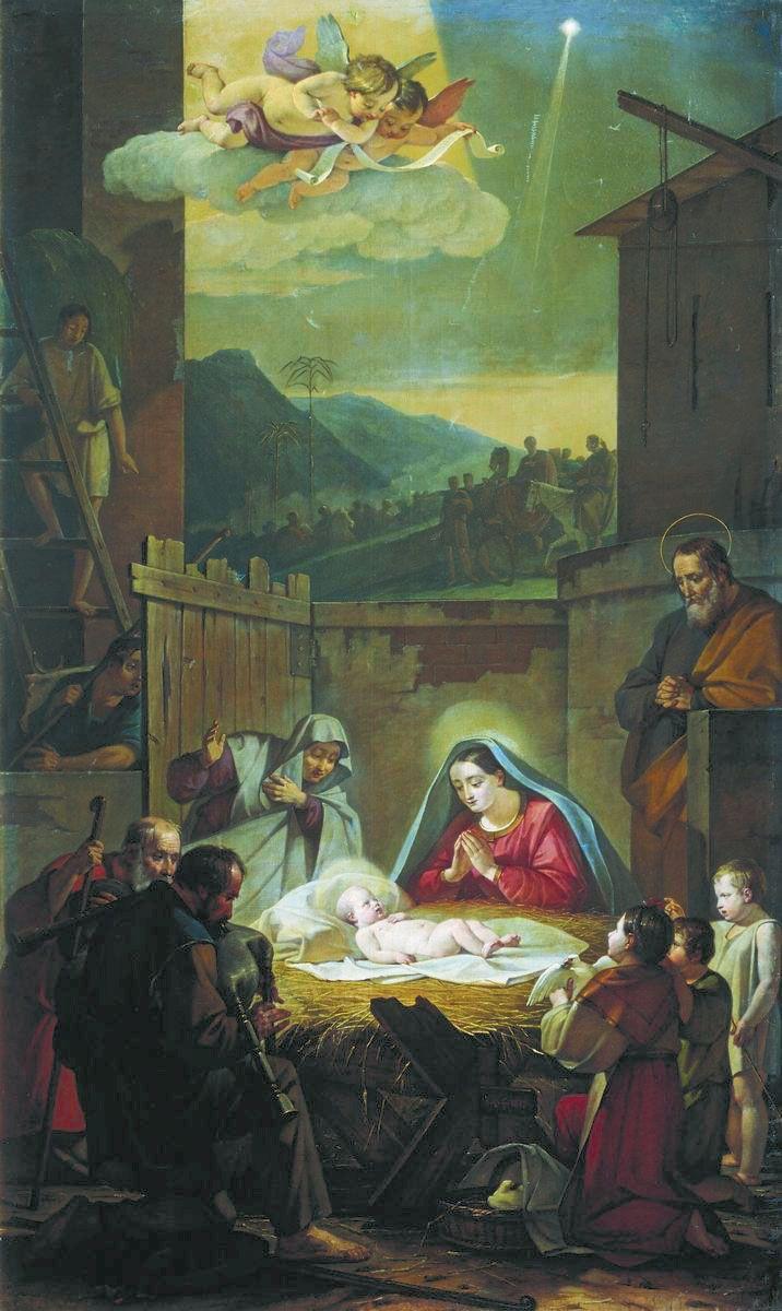 Василий Шебуев. Рождество Христово.