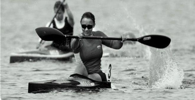 Ana Roxana Lehaci (Carrera de canoas)