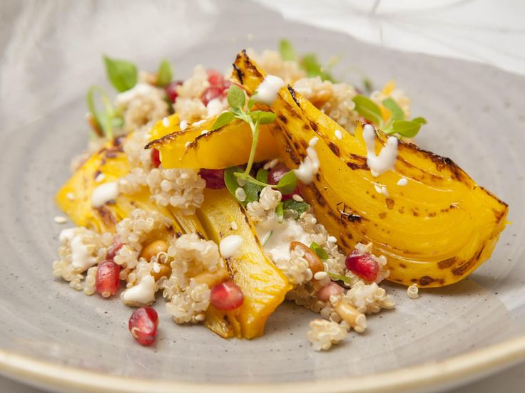 Fennel and orange quinoa salad by Shaun RankinShaun Rankin's vibrant quinoa salad recipe is bursting with Middle Eastern flavours, with sesame, pomegranate and saffron adding another dimension to the …