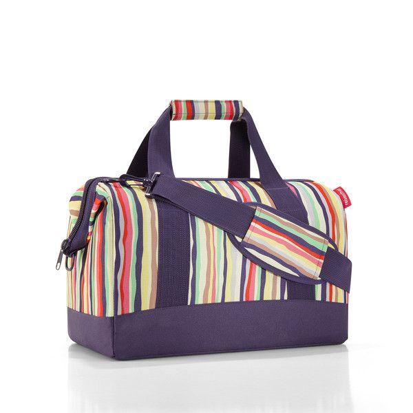 Reisenthel Allrounder M Travel Bag: Stripes | $49.95