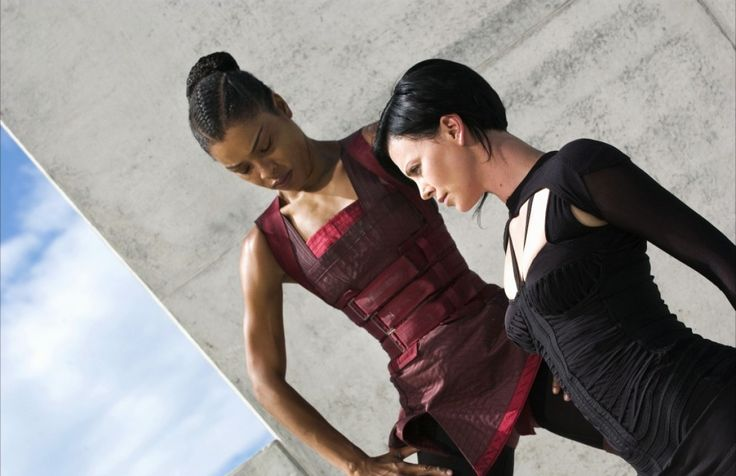 Charlize Theron and Sophie Okonedo - Aeon Flux