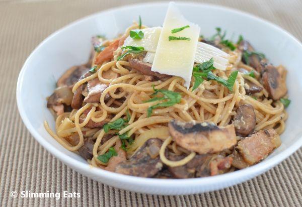 Spaghetti Carbonara | Slimming Eats - Slimming World Recipes