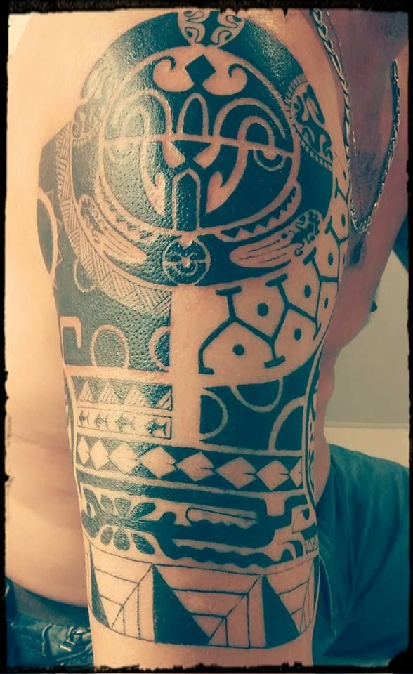 Body Art World Tattoos Maori Tattoo Art And Traditional: Maori Tattoo Neck