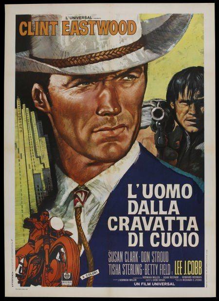 Coogan's Bluff Italian 2 Foglio movie poster. Clint ...