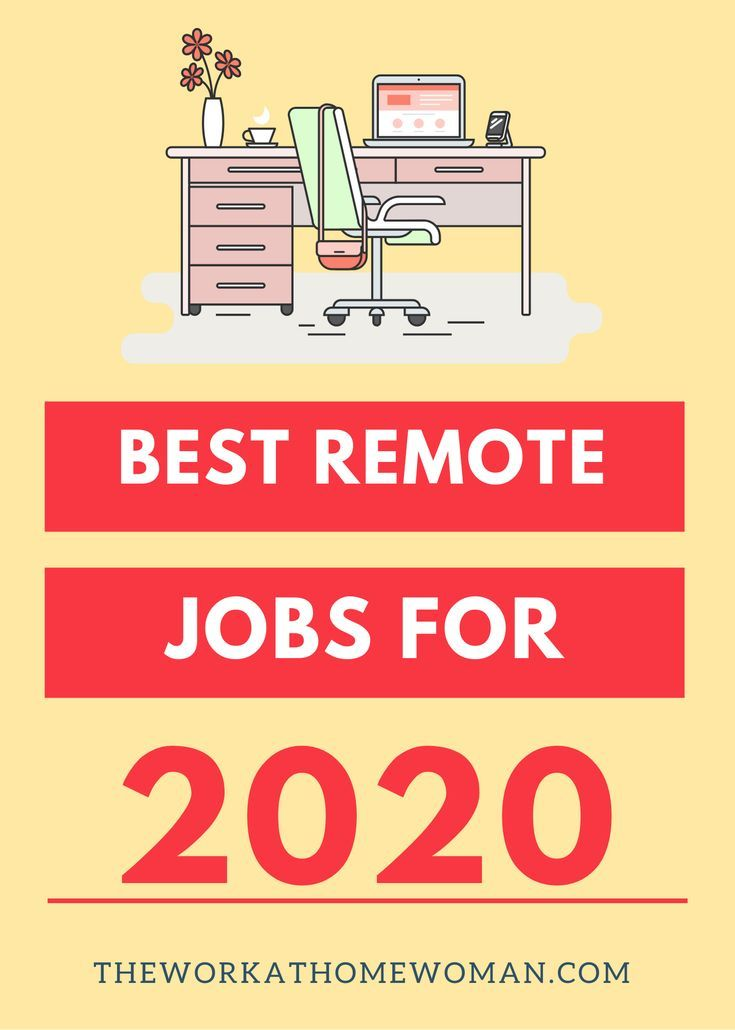 The Best Work From Home Jobs For 2020 In 2020 Work From Home Jobs Legit Work From Home Online Work From Home