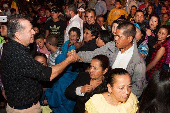 Guática y Quinchía celebraron con música, regalos y reconocimientos, los 50 años de Risaralda