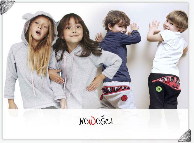 Zombie Dash, Pola&Frank, Maybe4baby, Kids of colours, Four'eMki, Gapula, MaBiBi to tylko część naszej szerokiej oferty dla dzieciaków!