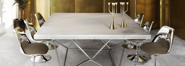 Modern Dining Tables chose 10 superb square dining table ideas for a contemporary dining room that certainly will inspire you. Take a look!