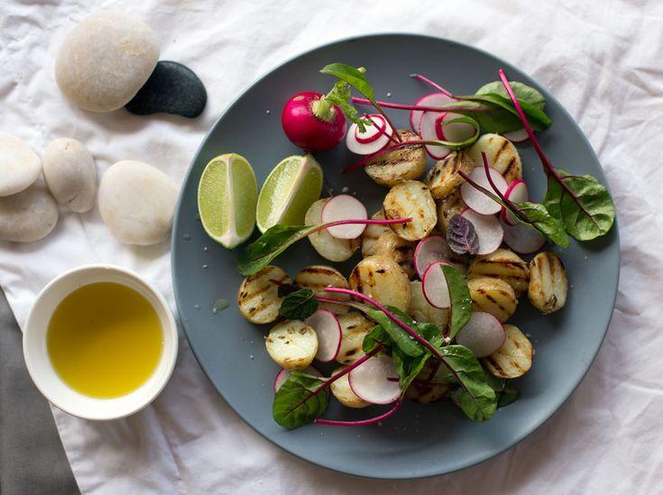 potetsalat med redikker