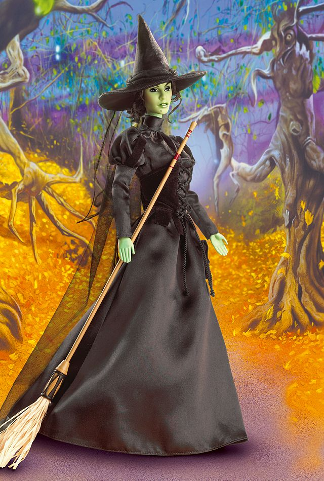 The Wizard of Oz barbie dolls from Matel: The Wicked Witch of the West