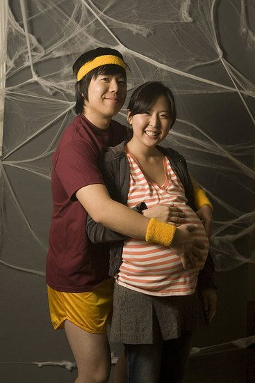 Juno & Paulie Bleeker #Couple #Halloween #Costume