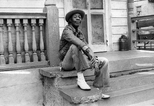 Professor Longhair, aka Henry Roeland Byrd, in New Orleans in 1976. I love his music.