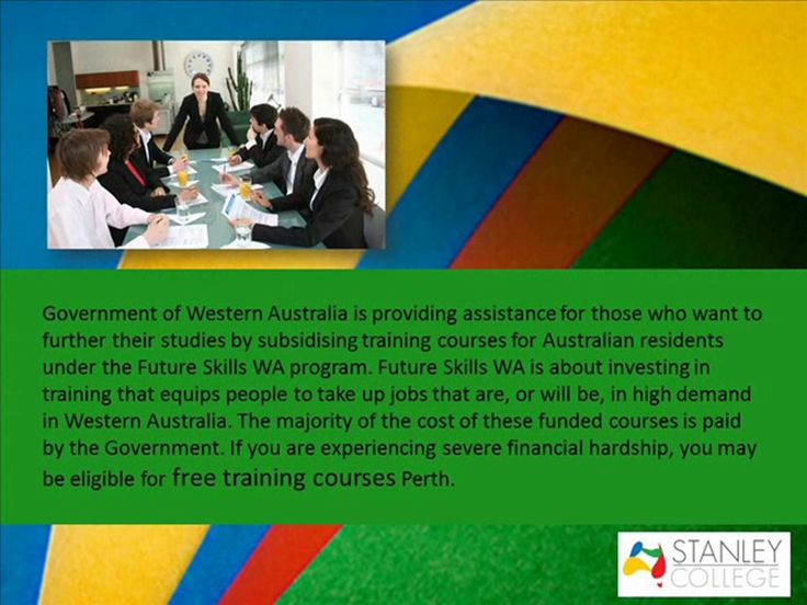 How To Conduct A Free Funded Courses Perth