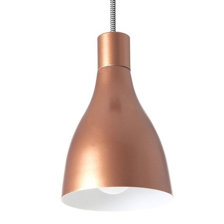 Leitmotiv 'Nofoot' Pendant Lamp - Copper