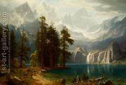 Sierra Nevada I  by Albert Bierstadt